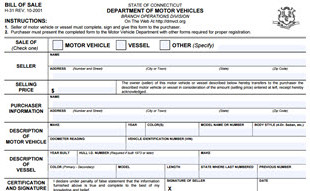 Us states bill of sale forms for State of maine motor vehicle bill of sale